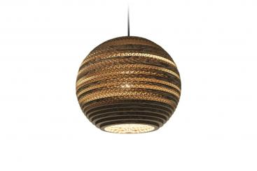 Pendelleuchte Scraplights Moon Natural ab 196,– €