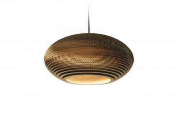 Pendelleuchte Scraplights Disc Natural ab 260,– €