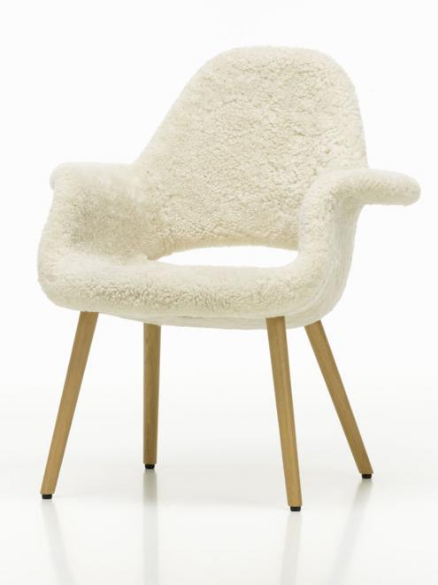 Organic Chair Schaffell Edition limitierte Edition
