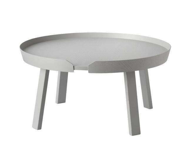 Around Coffee Table groß | grau