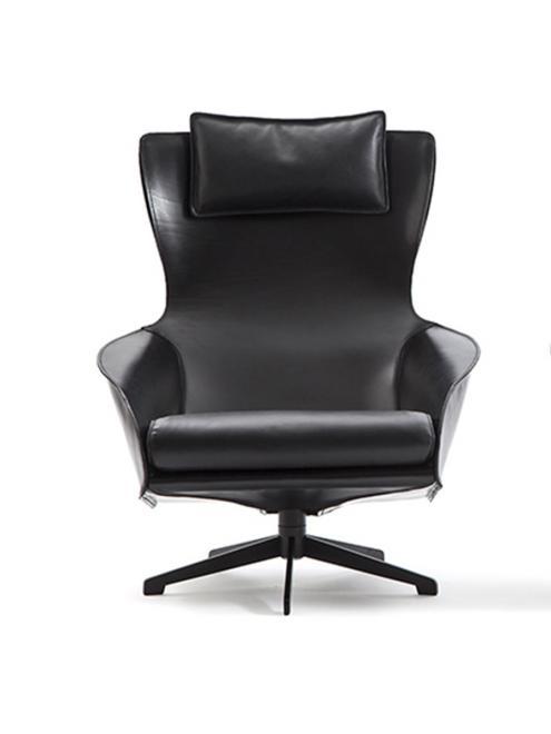 Sessel 423 Cab Lounge schwarz
