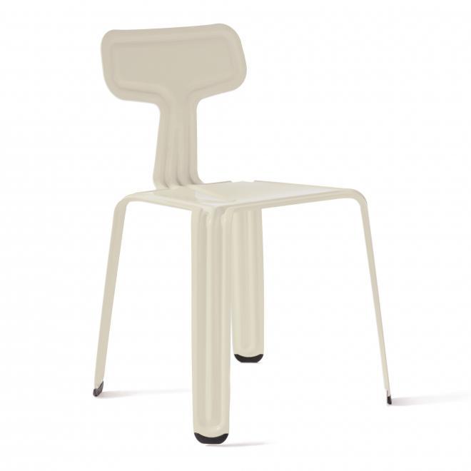 Pressed Chair Stapelstuhl keinweiß