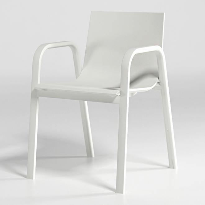 Stuhl Stack Modell 3