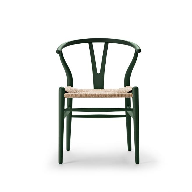 Special Edition Wishbone Chair CH24 Soft Soft Green