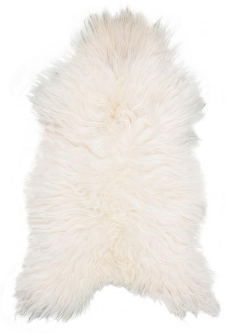 Lammfell für den Schaukelsessel Stingray weiß lockig