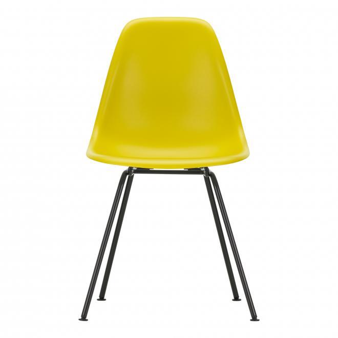 Eames Plastic Sidechair DSX senf | basic dark pulverbeschichtet