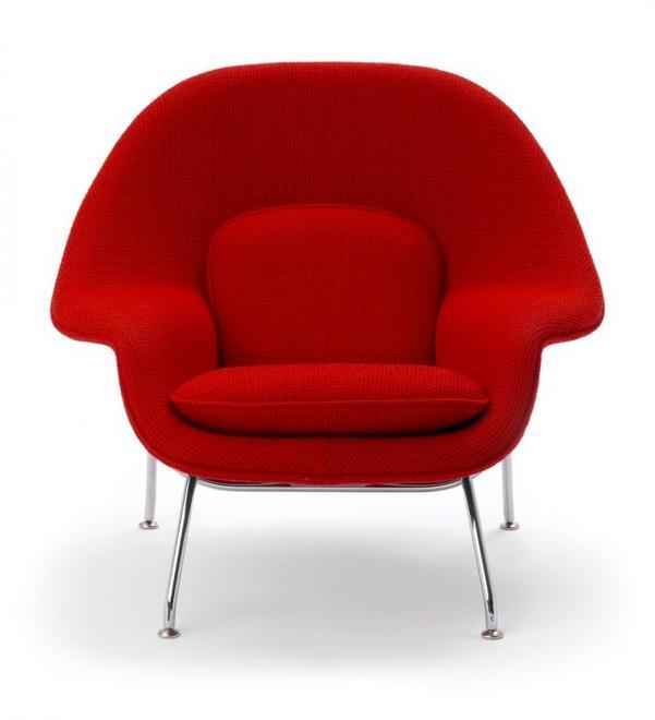 Womb Chair Relax Tonus rot