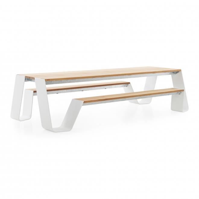 Bank- und Tischkombination Hopper