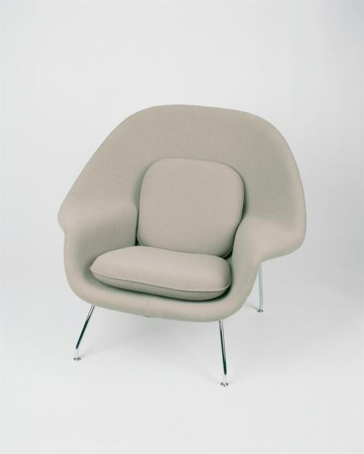 Womb Chair Relax Tonus ivory