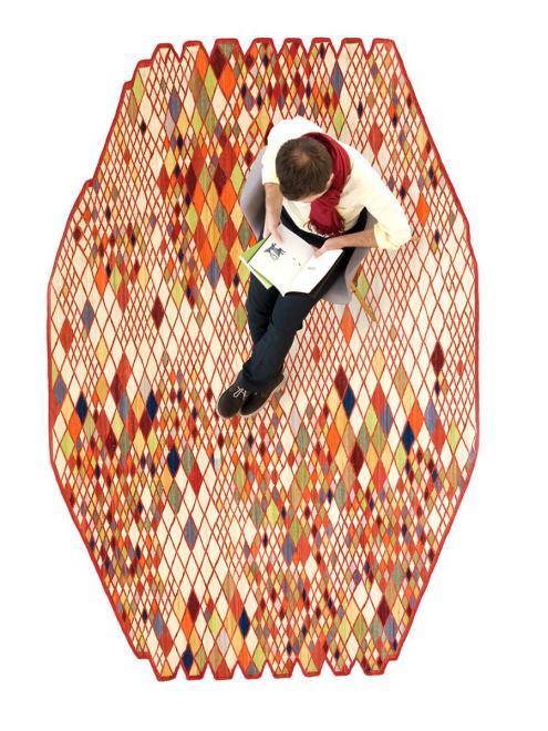 Teppich Losange