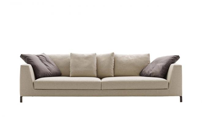 Sofa Ray mit großen Rückenkissen