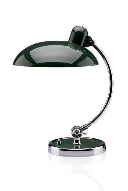 Tischleuchte Kaiser Idell Luxus | dunkelgrün