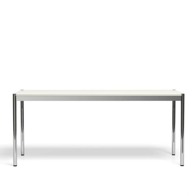 USM Haller Tisch Kunstharz, perlgrau