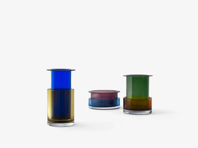 Vase Tricolore