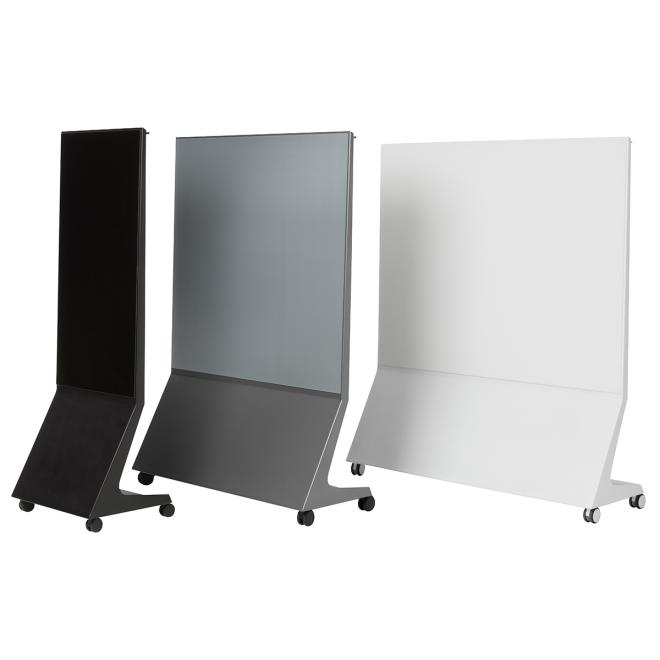 Mobile magnetische Glastafel Chat Board Mobile mit Pinnwand