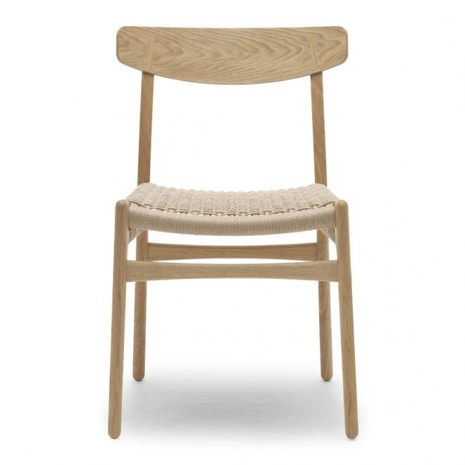Stuhl CH23 Natur Geflecht | Eiche geölt