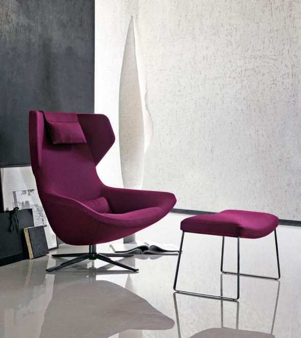 Sessel Metropolitan '14, hoch Stoff Eden 2122601 velvet