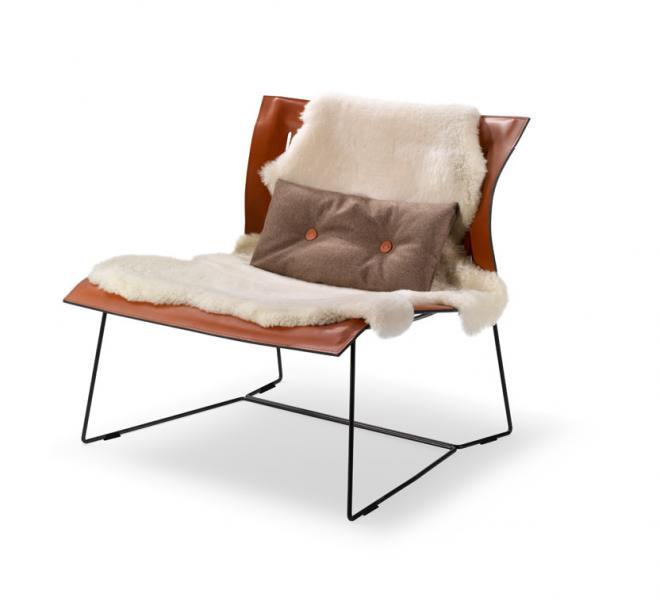 Cuoio Lounge Chair 1202