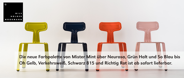Moormann Pressed Chair neue Farb