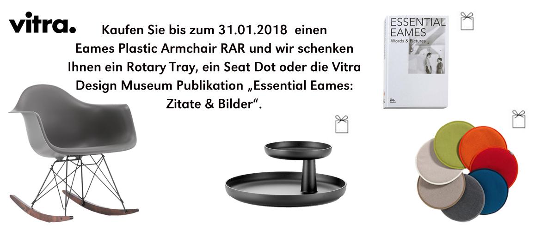 Vitra Weihnachtsaktion Eames Plastic Armchair RAR